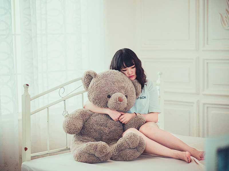 Why do we need teddy bear hugs?